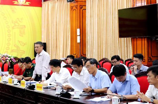 Thứ trưởng Bộ TT&TT Phạm Hồng Hải kiểm tra công tác PCTT và TKCN tại tỉnh Hà Giang
