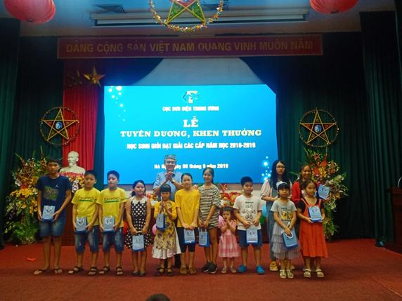 Cục BĐTW tổ chức Lễ tuyên dương, khen thưởng Học sinh giỏi đạt giải các cấp năm học 2018-2019 và tổ chức chương trình Vui Tết Trung thu năm 2019.