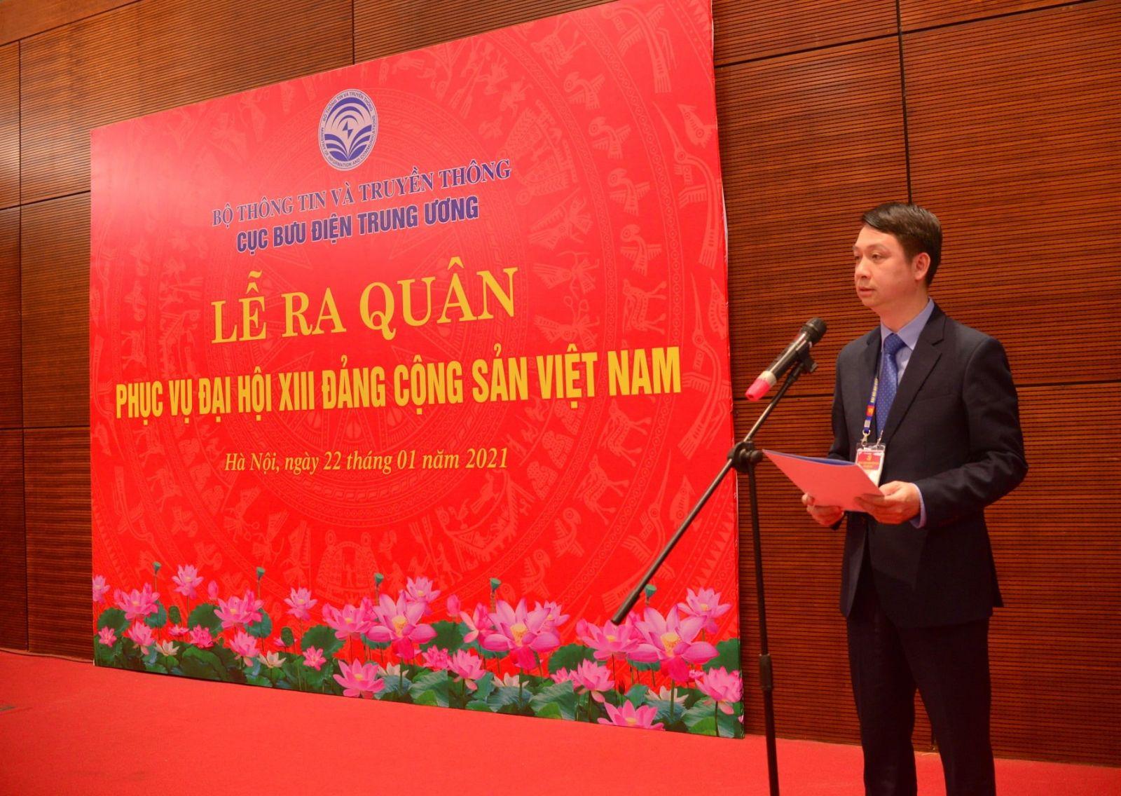 Cục Bưu điện Trung ương sẵn sàng phục vụ Đại hội Đại biểu toàn quốc lần thứ XIII của Đảng