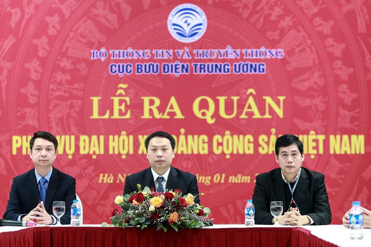 Bộ TT&TT ra quân phục vụ Đại hội Đại biểu toàn quốc lần thứ XIII của Đảng