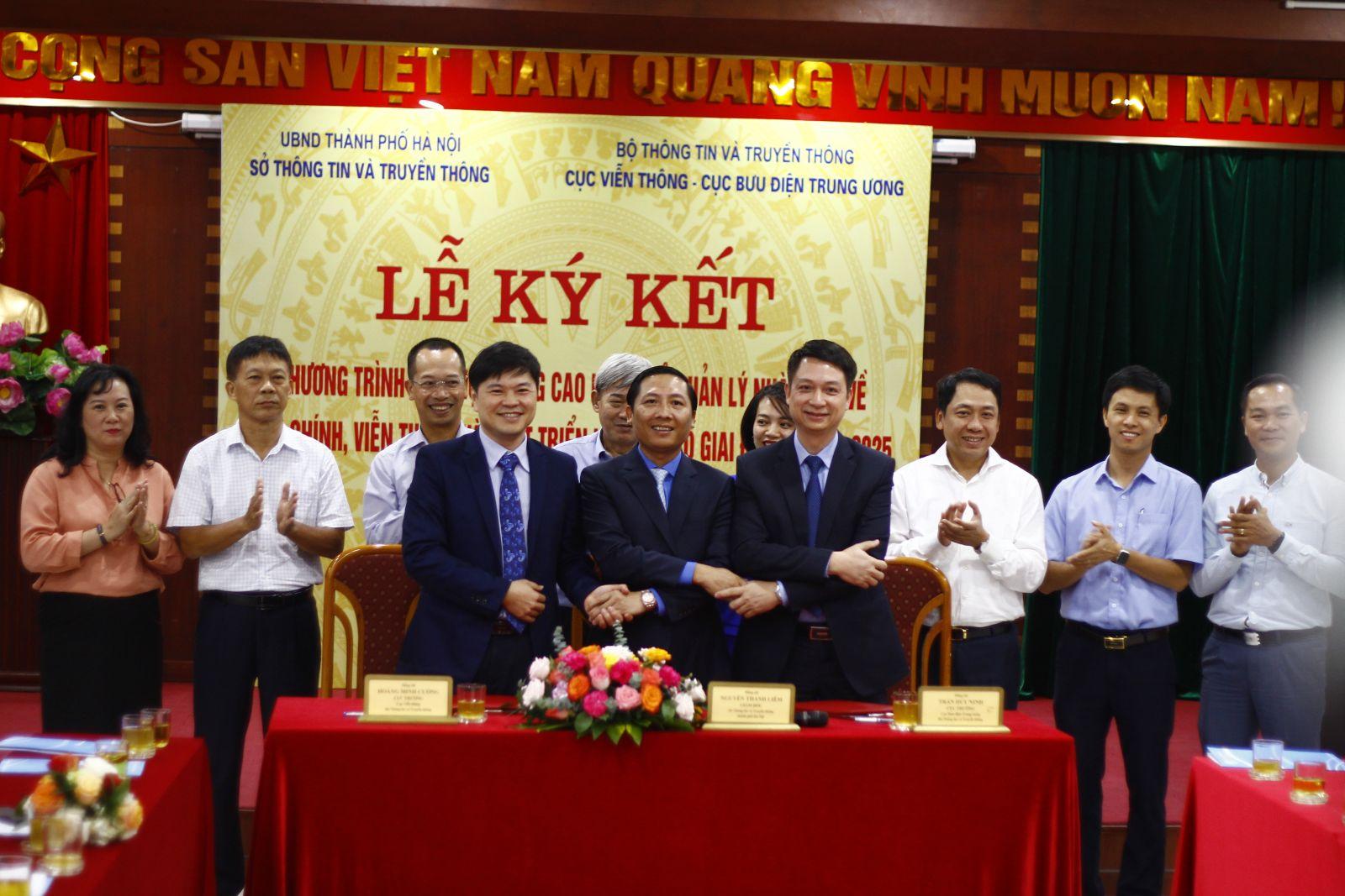 Cục Bưu điện Trung ương và Sở Thông tin và Truyền thông Thành phố Hà Nội phối hợp trong công tác tham mưu, thúc đẩy phát triển lĩnh vực Bưu chính, Viễn thông phục vụ cơ quan Đảng, Nhà nước trên địa bàn Thành phố Hà Nội