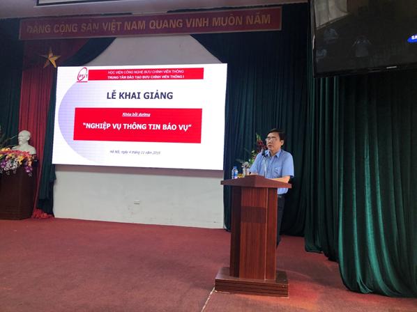Khai giảng khóa đào tạo Nghiệp vụ thông tin báo vụ (Morse) năm 2019