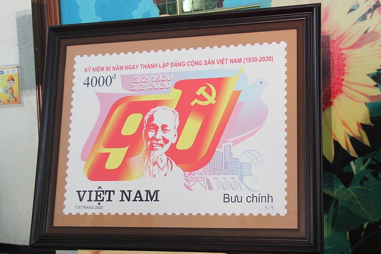 """Phát hành đặc biệt bộ tem bưu chính """"Kỷ niệm 90 năm thành lập Đảng Cộng sản Việt Nam (3/2/1930 - 3/2/2020)"""""""