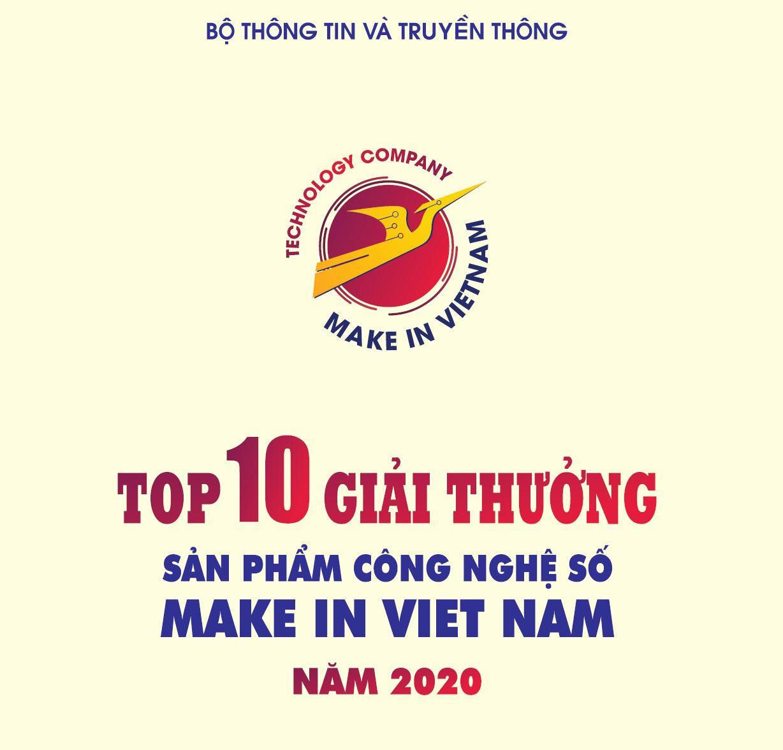 Công bố Top 10 sản phẩm công nghệ số Giải thưởng Sản phẩm công nghệ số Make in Viet Nam 2020
