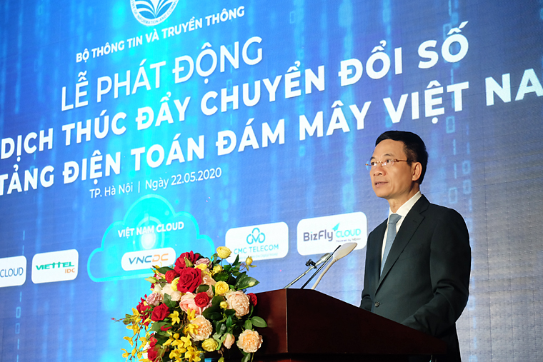 Bộ TT&TT phát động chiến dịch thúc đẩy chuyển đổi số bằng công nghệ Điện toán đám mây (ĐTĐM) Việt Nam